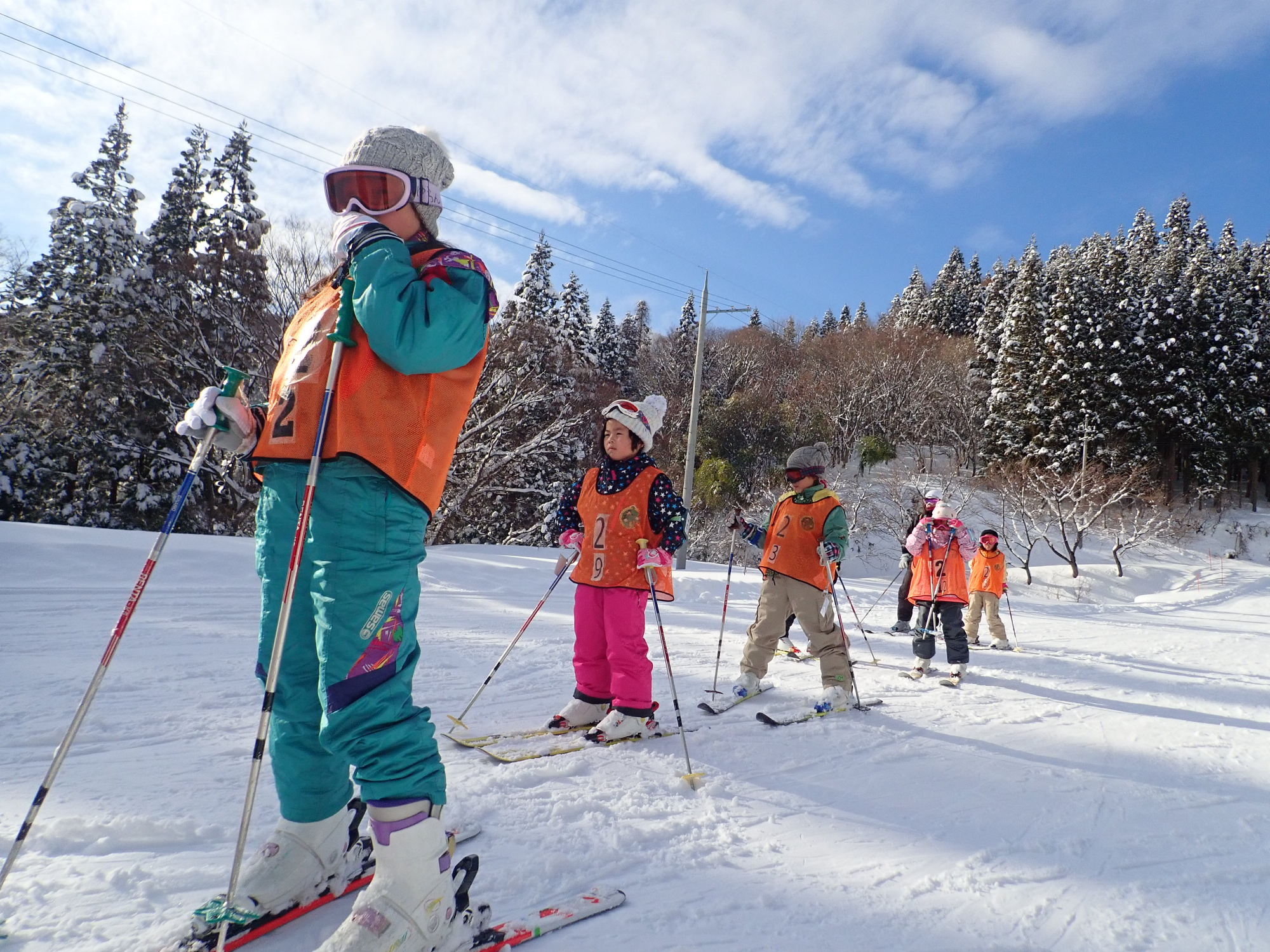 スキー雪あそびキャンプ申込みについて