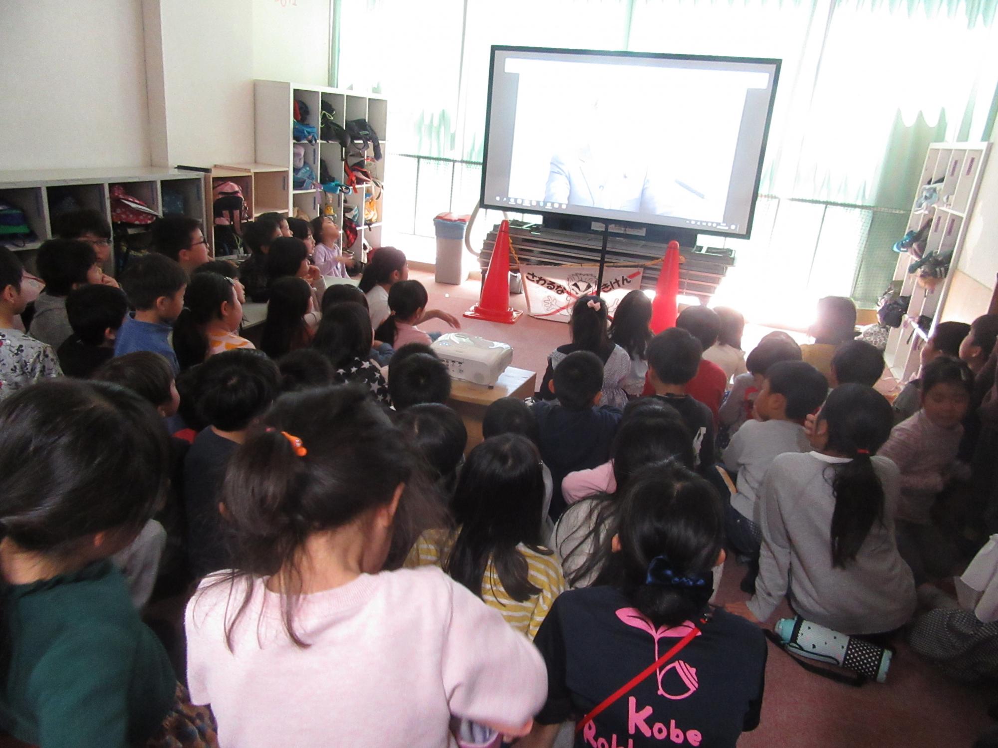神戸市立六甲道児童館「4月1日新元号発表!新一年生WELCOME!」