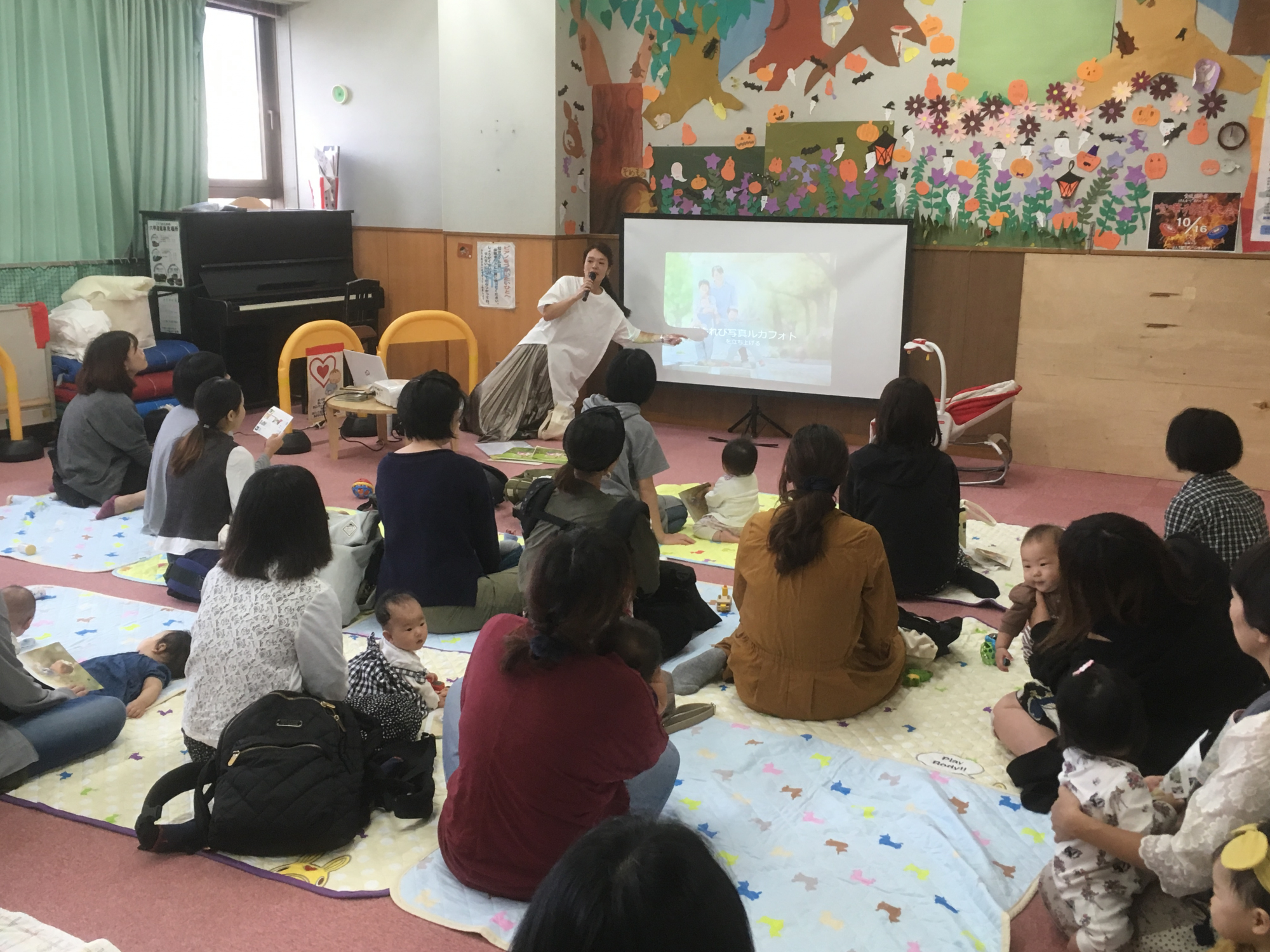 神戸市立六甲道児童館「赤ちゃん写真講座」