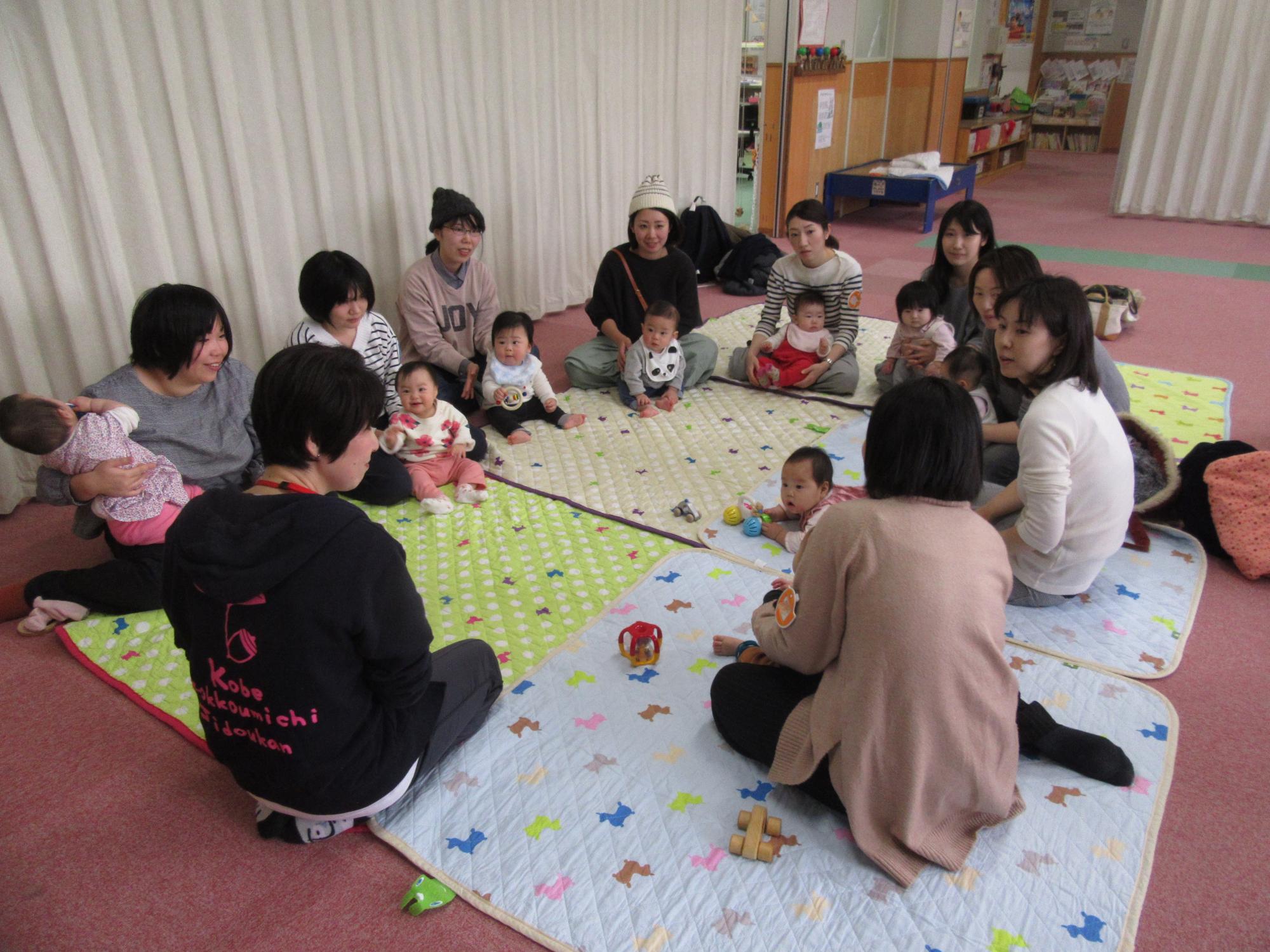 神戸市立六甲道児童館「赤ちゃんのお部屋」