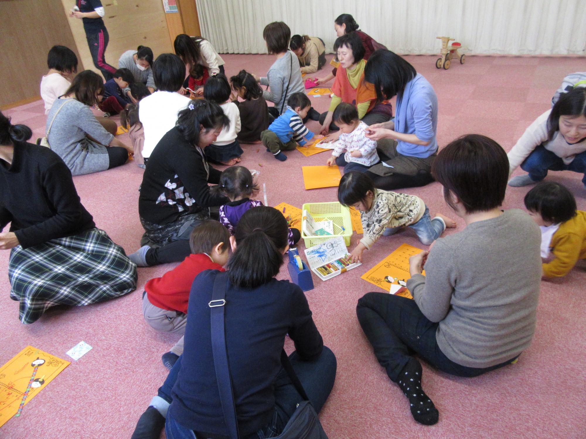 神戸市立六甲道児童館「2月のそよかぜ広場の様子」