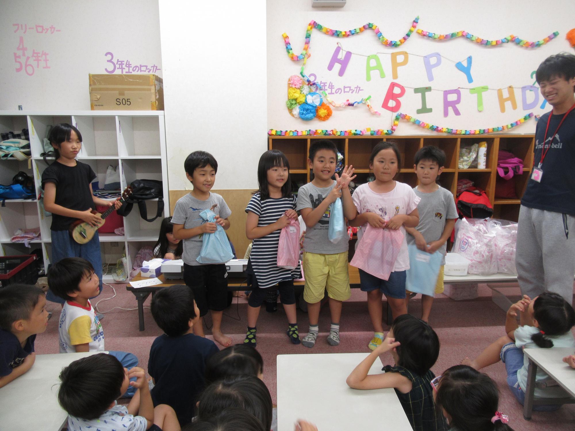 神戸市立六甲道児童館「夏休みの学童さん☆」