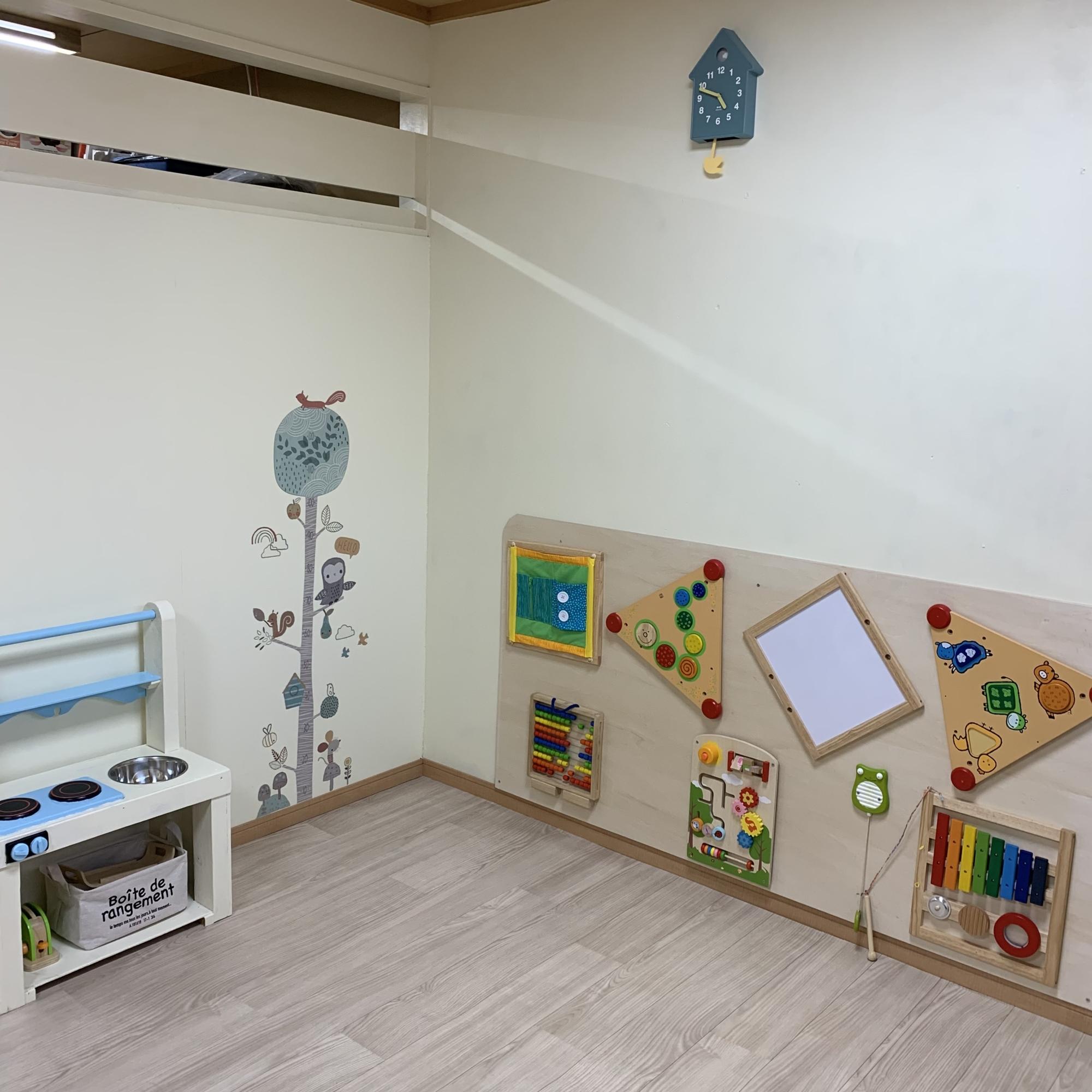 赤ちゃんのお部屋のDIY、もうすぐ完成!