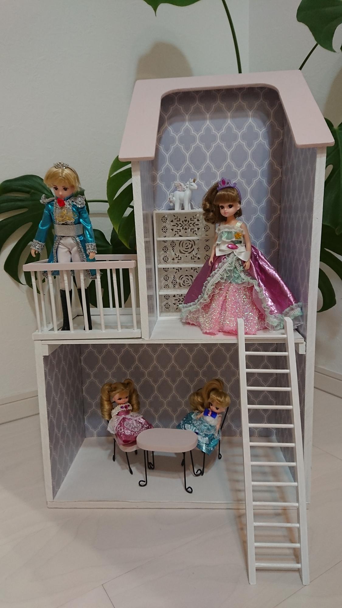 神戸市立六甲道児童館「トンチンカンチン大工さん・作品報告(ママが作ったドールハウス)」