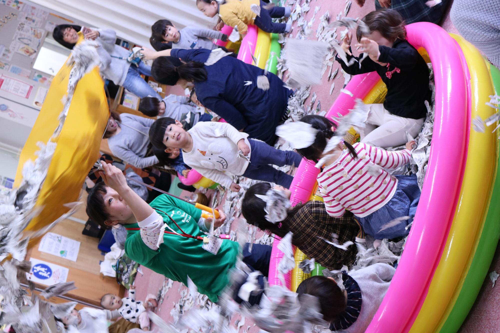 六甲道児童館のブログが新しくなりました