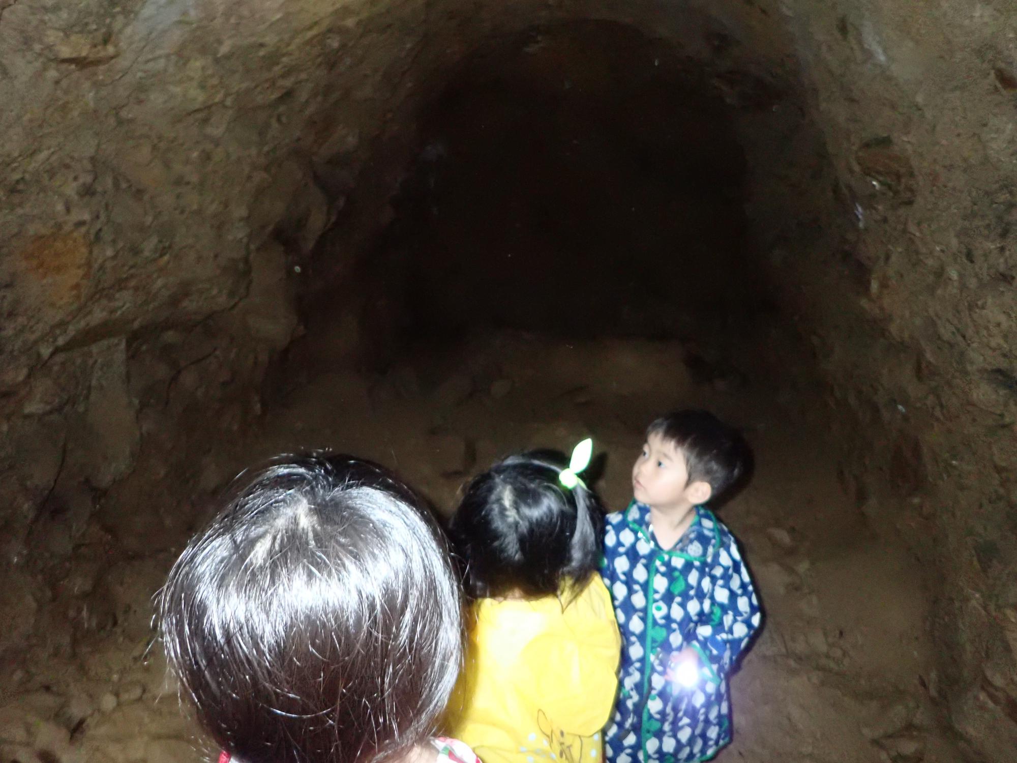 9月15日土曜KAS 洞窟の中はヒンヤリ!