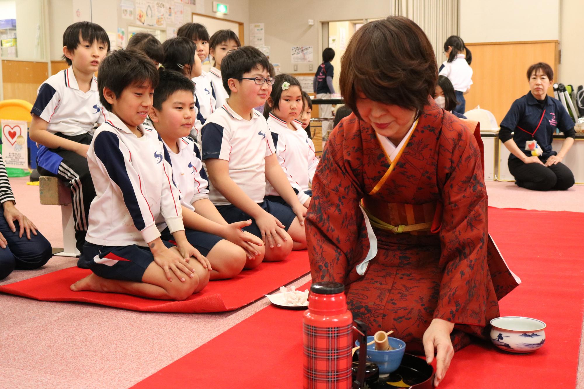 神戸市立六甲道児童館「お茶会・将棋大会・お食事会」